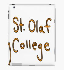 St. Olaf College iPad Case/Skin