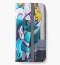 Painted Cow by Cathedral Youth, Ebrington Square Derry iPhone Wallet/Case/Skin
