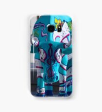 Painted Cow by Cathedral Youth, Ebrington Square Derry Samsung Galaxy Case/Skin