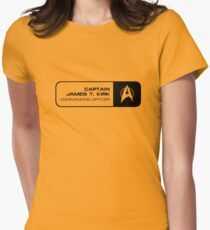 Kirk Womens Fitted T-Shirt