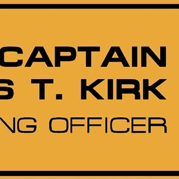 Kirk by Tiltedgiraffes