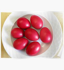 Red Eggs Poster