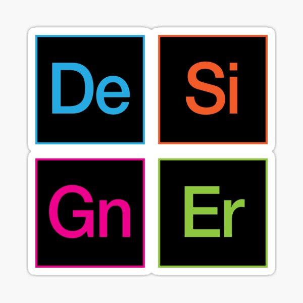 Creative Suite Designer Icons Sticker