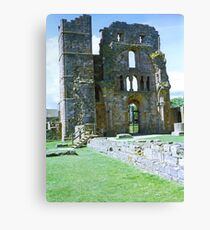 Priory Wall Canvas Print