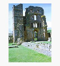 Priory Wall Photographic Print
