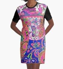 Tracy Porter / Poetic Wanderlust: Fearless (print) Graphic T-Shirt Dress