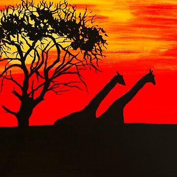 Safari Sunset by juliex