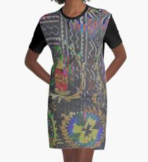 Tracy Porter / Poetic Wanderlust: Damn Fine Trouble (print) Graphic T-Shirt Dress