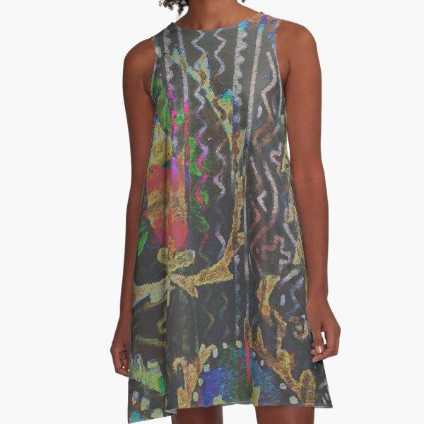 Tracy Porter / Poetic Wanderlust: Damn Fine Trouble (print) A-Line Dress