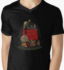 Charlie Brown t shirt Men's V-Neck T-Shirt
