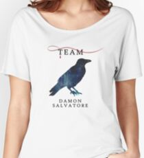 Team Damon Salvatore - The Originals  - The Vampire Diaries Women's Relaxed Fit T-Shirt