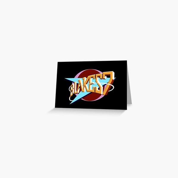 Blakes 7 Logo Greeting Card
