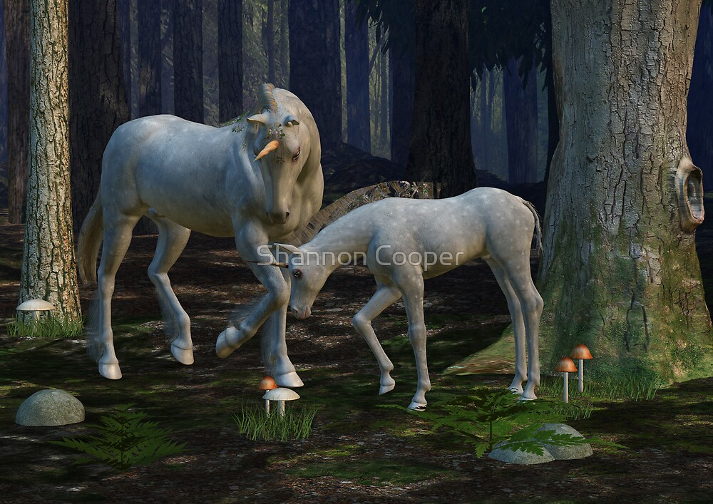 Realm of the Unicorn by Shannon Beauford