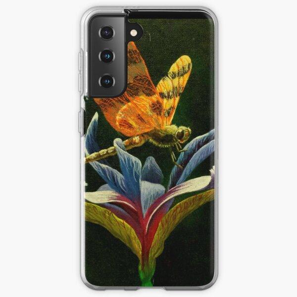 Dragonfly on Mountain Iris  Samsung Galaxy Soft Case