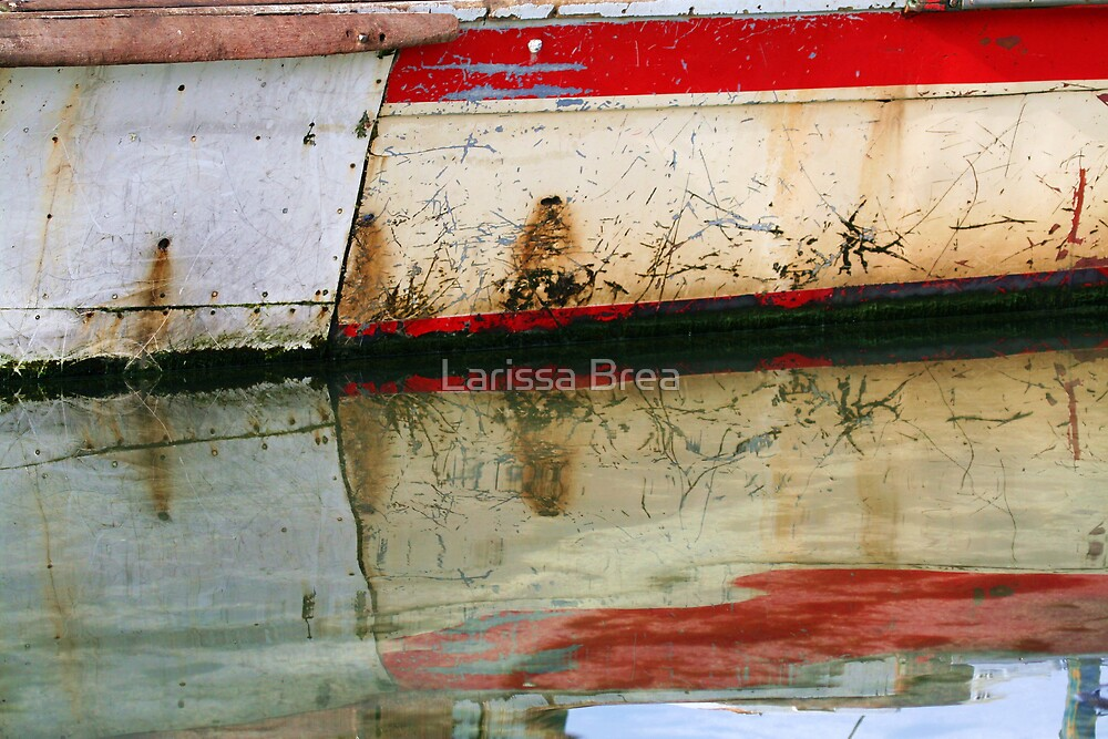 Abstract reflection II by Larissa Brea