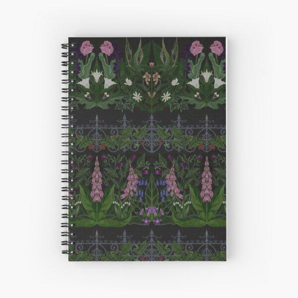 The Poison Garden - Gallimaufrey Spiral Notebook
