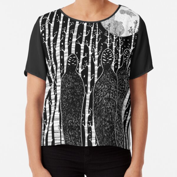 The People of the Forest Chiffon Top