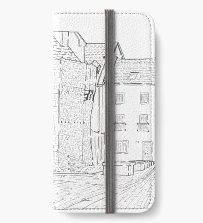 Spanish Arch Maze (Galway, Ireland) iPhone Wallet