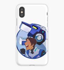 blue paladin iPhone Case/Skin