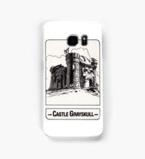 He-Man - Castle Grayskull - Trading Card Design Samsung Galaxy Case/Skin