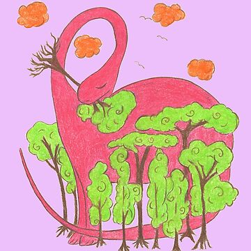 Pink Dino by ChrisiS