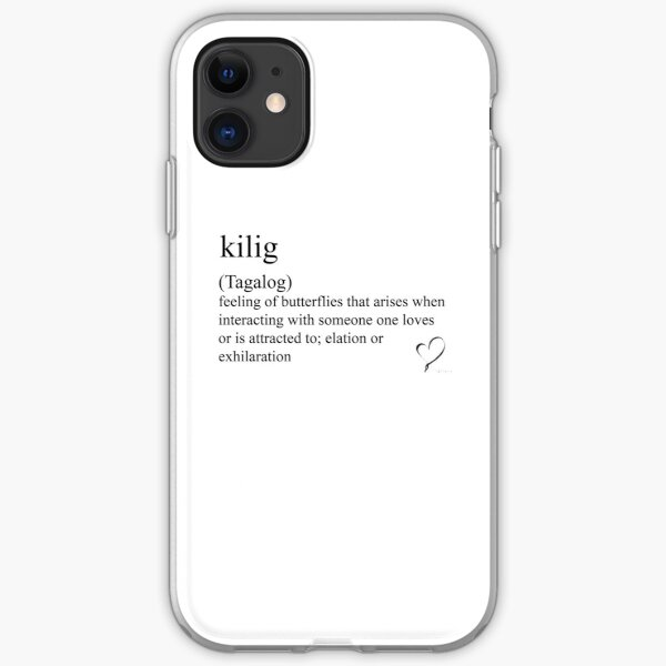 kilig (Tagalog) statement tees & accessories iPhone Soft Case