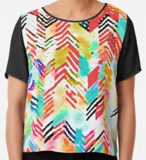 Tracy Porter / Poetic Wanderlust: Never Giving Up (print) Chiffon Top
