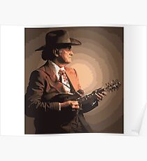 Bill Monroe Portrait Poster