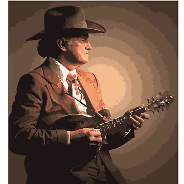 Bill Monroe Portrait by lifeofdunn