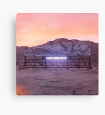 Arcade Fire - Everything Now Album Cover Canvas Print