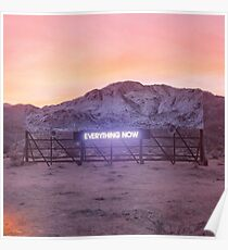 Arcade Fire - Everything Now Album Cover Poster