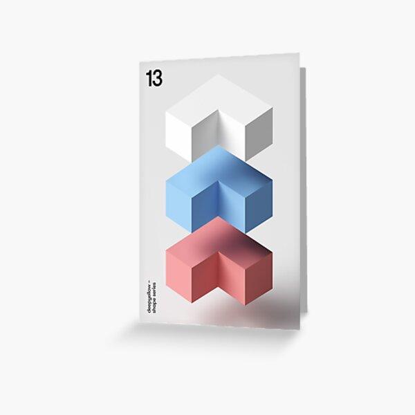 13 Deepshape Greeting Card