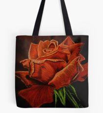 Dessin de rose rouge Tote Bag
