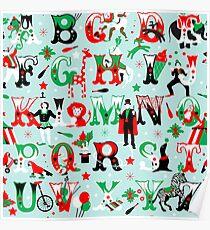 Circus alphabet Poster