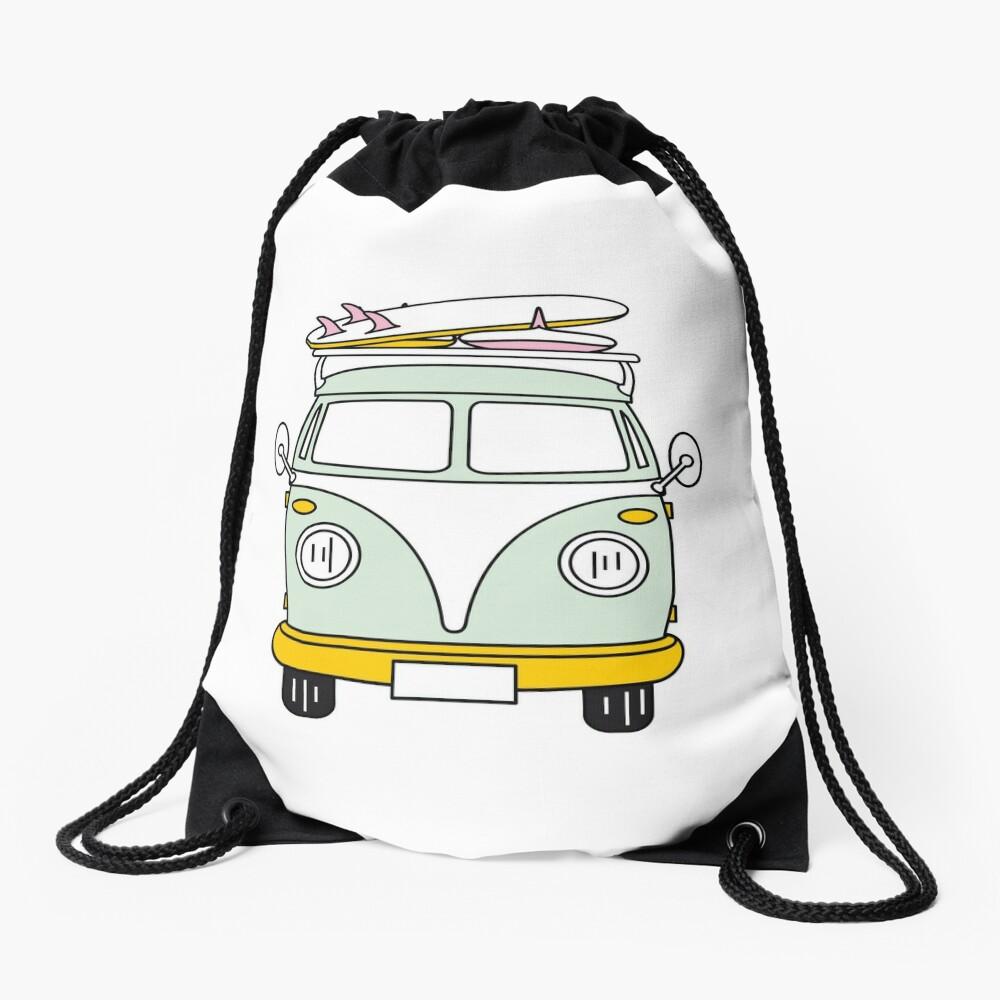 VW Van Drawstring Bag