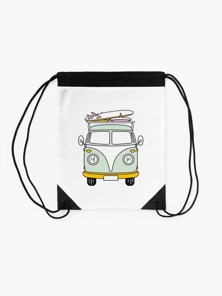 Alternate view of VW Van Drawstring Bag