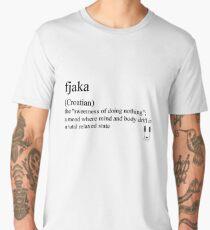 fjaka (Coatian) statement tee & accessories Men's Premium T-Shirt