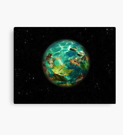 JewelViriditas.Another WaterEarthWithin Canvas Print