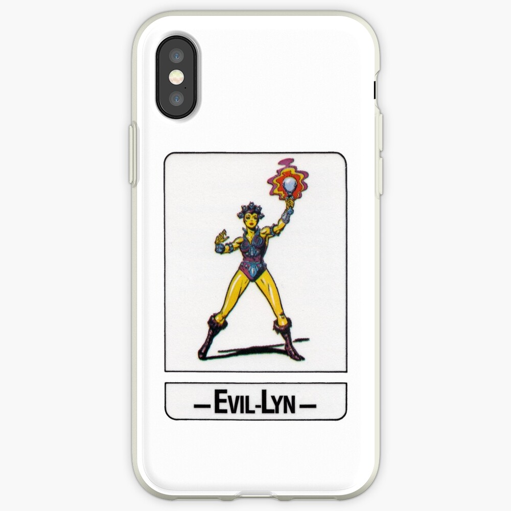 He-Man - Evil-Lyn - Trading Card Design iPhone Case & Cover