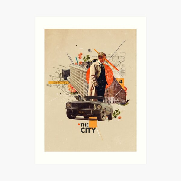 The City 1968 Art Print