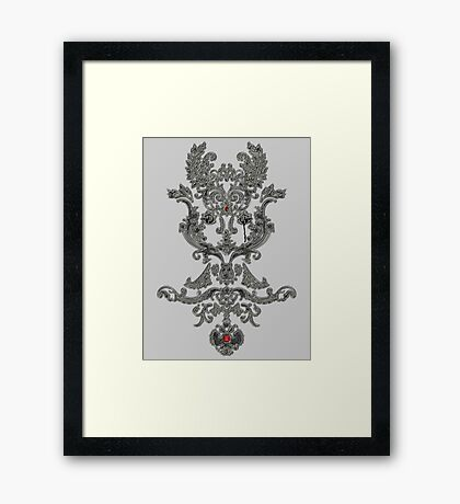 Do Antiques Mourn The Past Framed Print