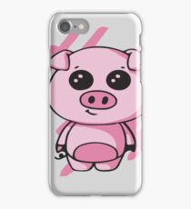 Squiggles - Baby Piglet iPhone Case/Skin