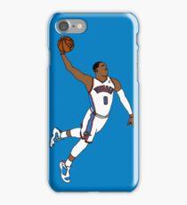 Russell Westbrook MVP Slam iPhone Case/Skin