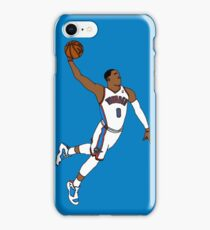 Russell Westbrook MVP Slam iPhone Case/Skin
