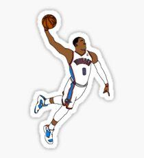 Russell Westbrook MVP Slam Sticker