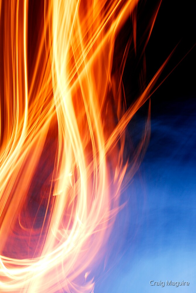 Abstract Fire by Craig Maguire