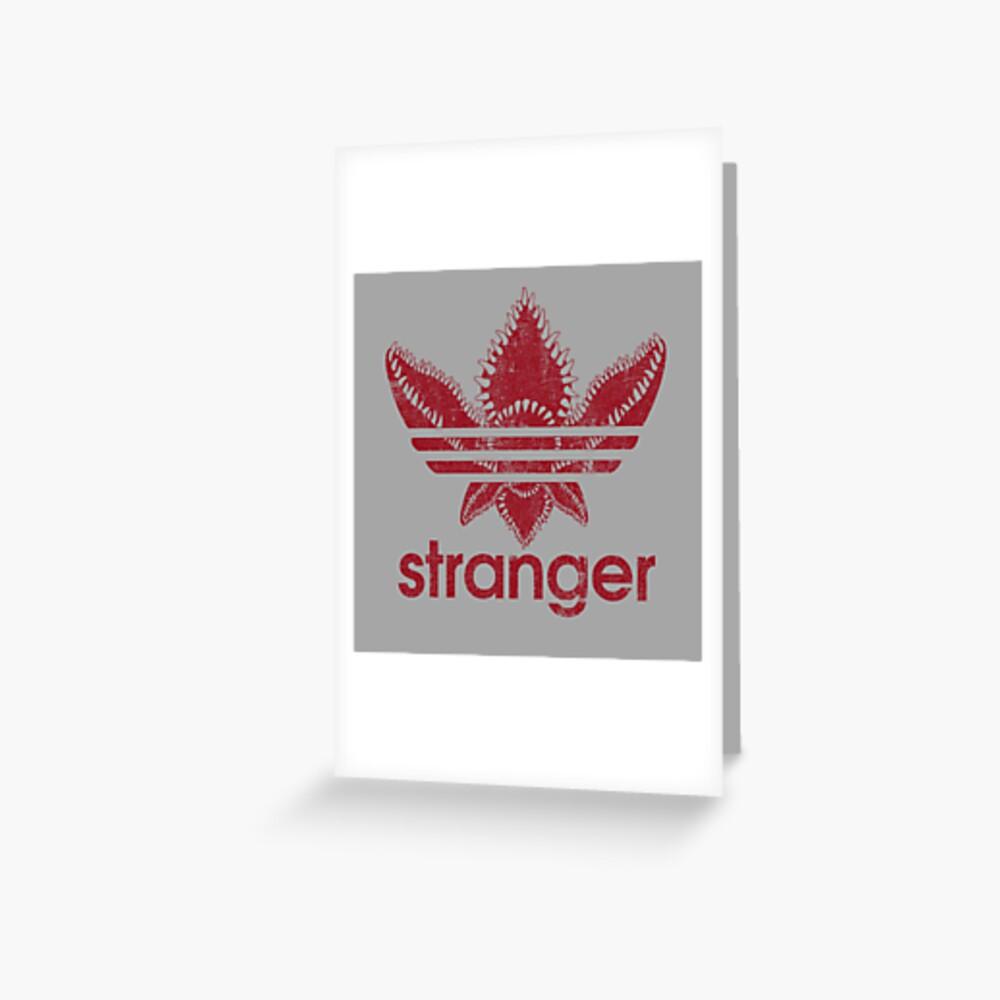 Stranger Athletic Greeting Card