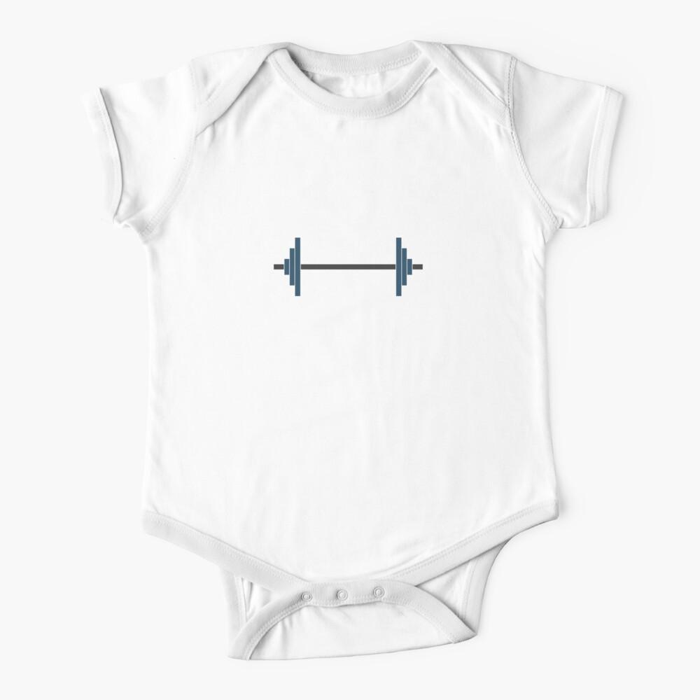 Barbells Baby One-Piece