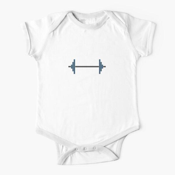 Barbells Short Sleeve Baby One-Piece