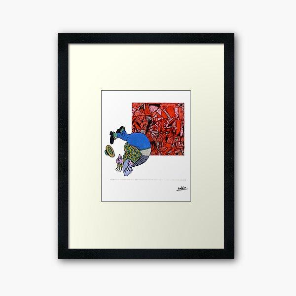 How Much Art Can One Endure? Framed Art Print